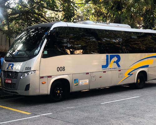 J R Turismo ônibus